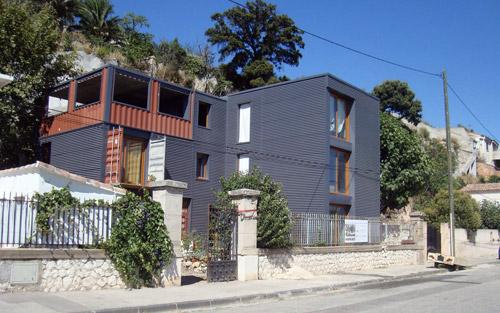 Maison containers à Marseille
