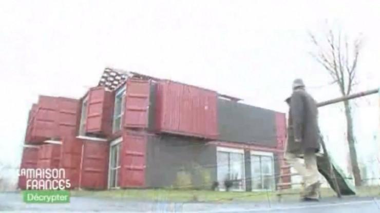 Les maisons containers dans La Maison de France 5