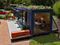 Guest House Maison Container par Poteet Architects