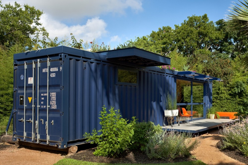 Maisons containers chambre d amis container 3 for Container chambre